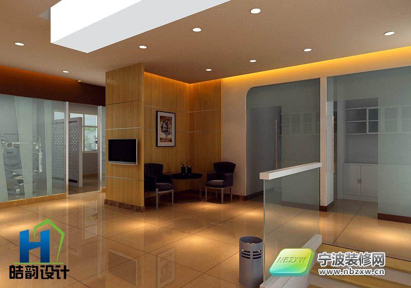 衢州某牙科诊所 单张展示 医院装修效果图