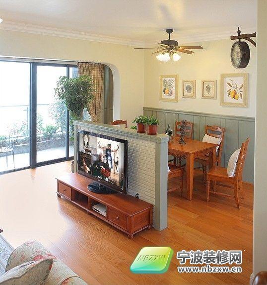 140平清新乡村家居 客厅装修图片