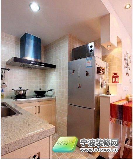 5万元打造60平米全功能现代家 厨房装修效果图 -5万元打造60平米全功