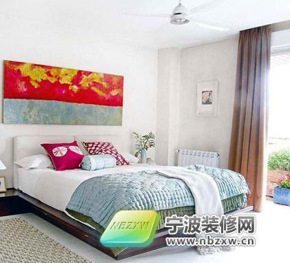 89平米两室紫色梦幻家装 卧室装修效果图