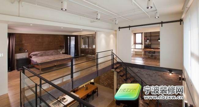 140平双层阁楼设计-卧室装修效果图-宁波装修网装修
