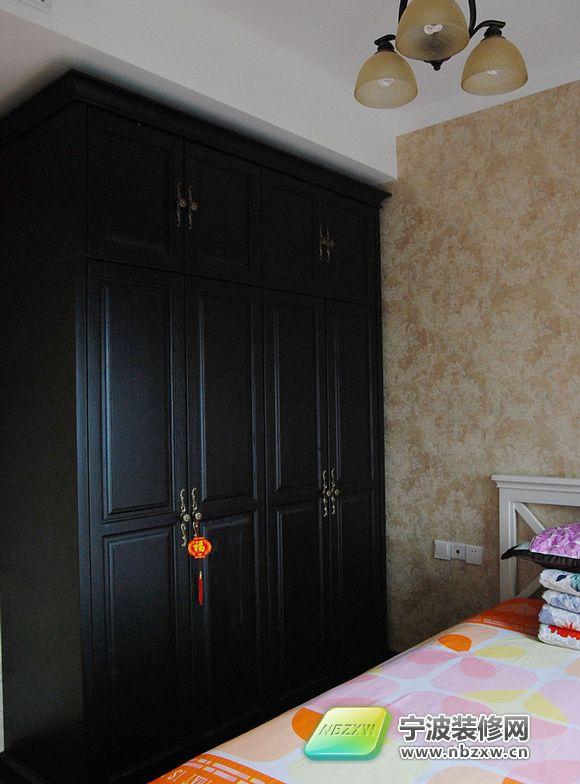 108平米宽敞舒适家装 厨房带大飘窗 卧室装修效果图