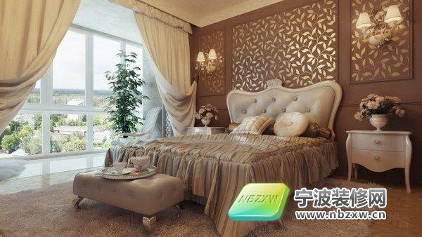 105平米欧式风格 尽显优雅 卧室装修图片