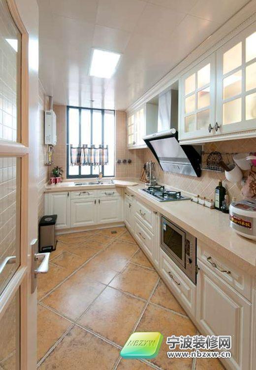 139平米的欧式田园美家 厨房装修效果图 宁波装
