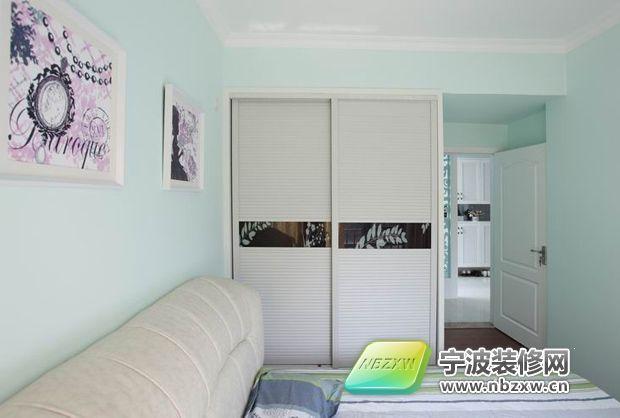 6平米小卧室衣柜推拉门装修效果图欣赏 春天装修季120平5