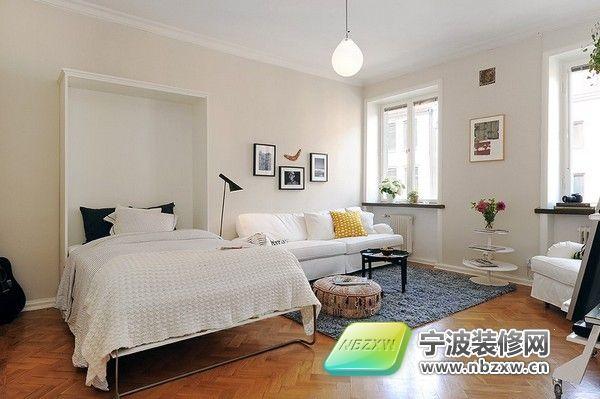 小公寓的创意设计 卧室装修效果图