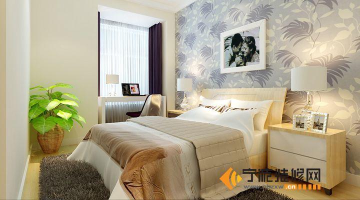 46平米黑白灰经典蜗居 卧室装修效果图 -46平米黑白灰经典蜗居 卧室