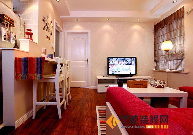 69平米宜居小户型 客厅装修图片