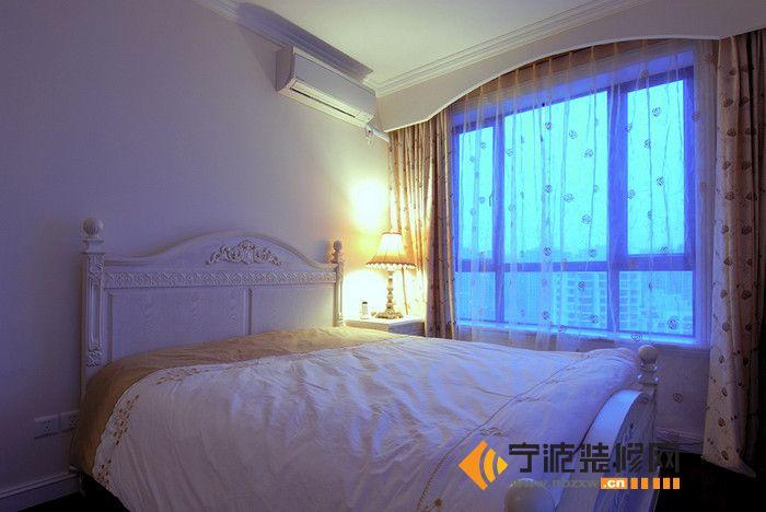 102平米 欧式 奢华 田园风 卧室 装修效果图 宁波