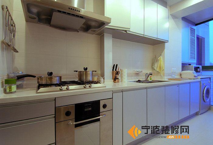 102平米欧式奢华田园风 厨房装修图片