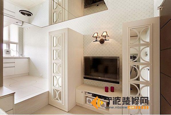 客厅小错层装修图图片 客厅与餐厅小错层装修,2步错层客厅