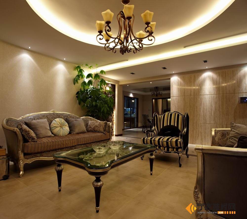 16万打造172平米现代豪宅-客厅装修效果图-宁波装修