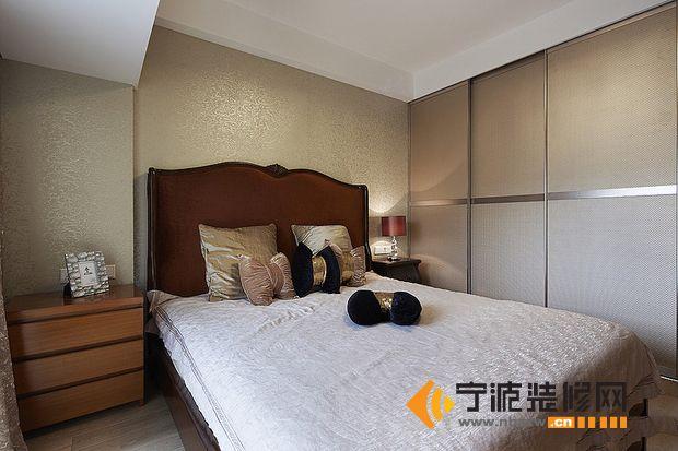 7万装95平米空间感新房 卧室装修效果图 -7万装95平米空间感新房 卧