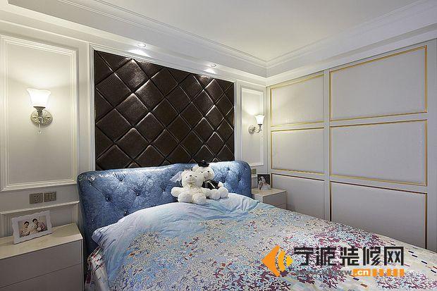7万装95平米空间感新房 卧室装修图片