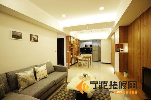 40平米开放式单身公寓 客厅装修图片高清图片