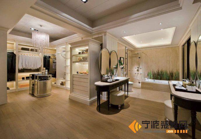 420平简约后现代别墅 过道装修效果图 -420平简约后现代别墅 过道装