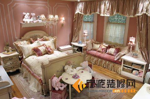 小户型卧室设计-儿童房装修效果图-宁波装修网装修