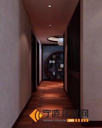 中式过道装修图片