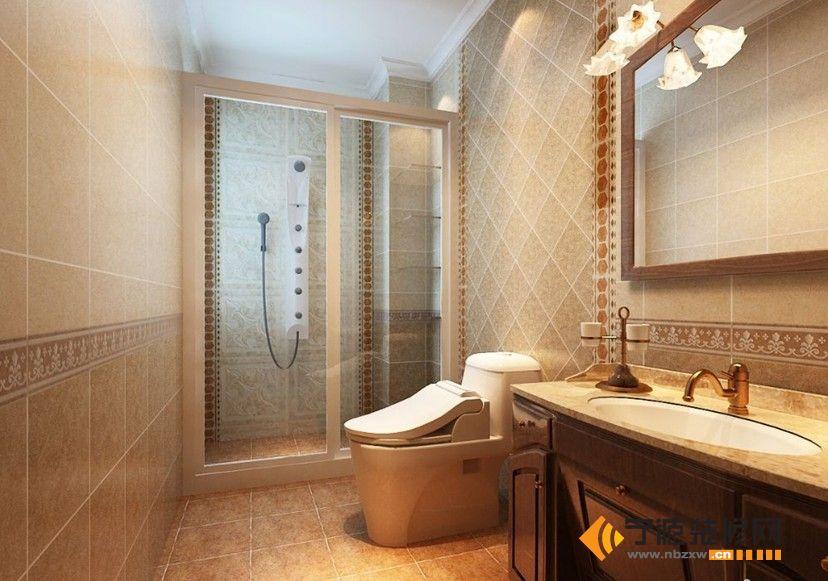欧式卫生间装修图片