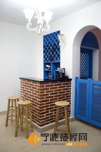 2014小户型吧台案例 餐厅装修效果图 宁波装修