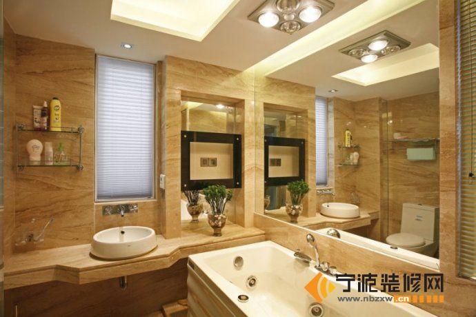 125平欧式古典三居 卫生间装修效果图