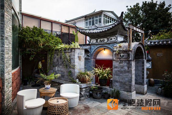 中式玄关装修图片