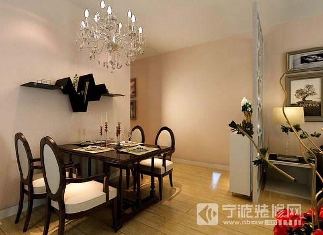93平现代简约两居 餐厅装修效果图 -93平现代简约两居 餐厅装修图片高清图片
