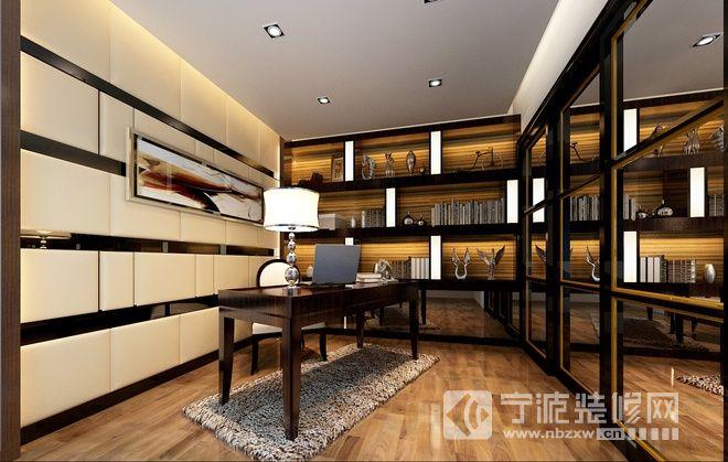 平方米大户型 书房装修 效果图-牛   90平米房屋 装修 效果