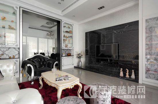 266平欧式新古典别墅 客厅装修图片