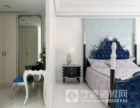 143平欧式古典低调奢华家 卧室装修图片