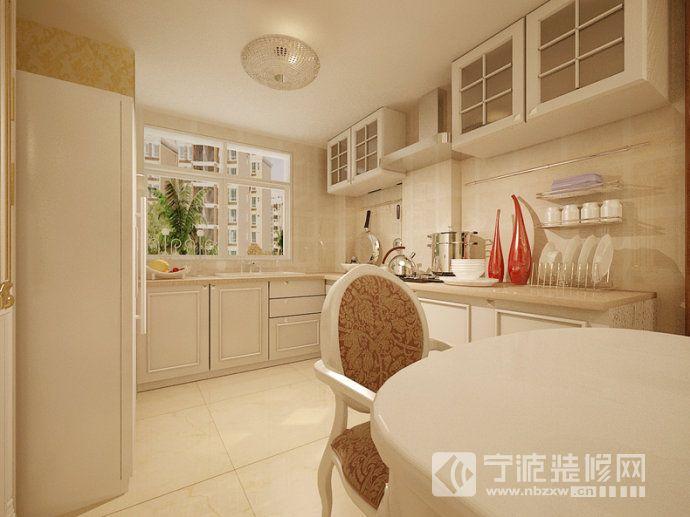 140平欧式奢华雅居 厨房装修图片
