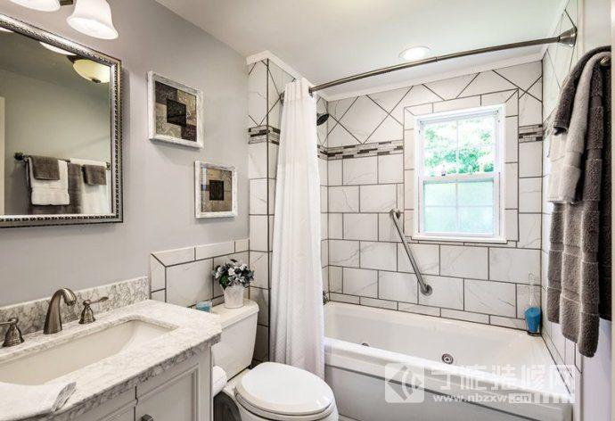 卫生间瓷砖颜色搭配方案 卫生间装修效果图