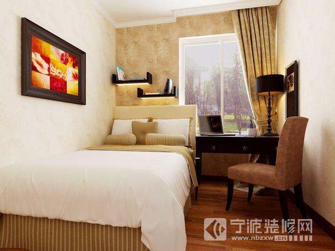 95平东南亚风格精品居 卧室装修图片