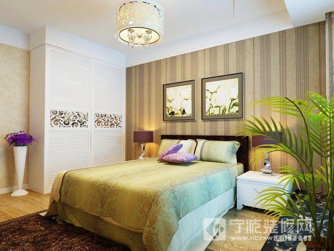 95平东南亚风格精品居 卧室装修效果图