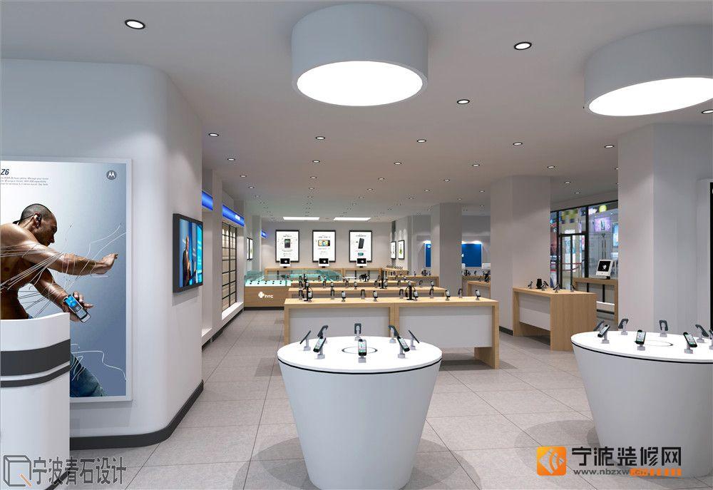 中国移动营业厅 店面设计 手机店装修-专卖店装