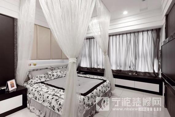 90平米简约两居室 卧室装修效果图 -90平米简约两居室 卧室装修图片