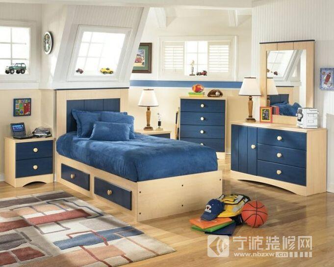 最新宜家风格儿童房设计 儿童房装修图片