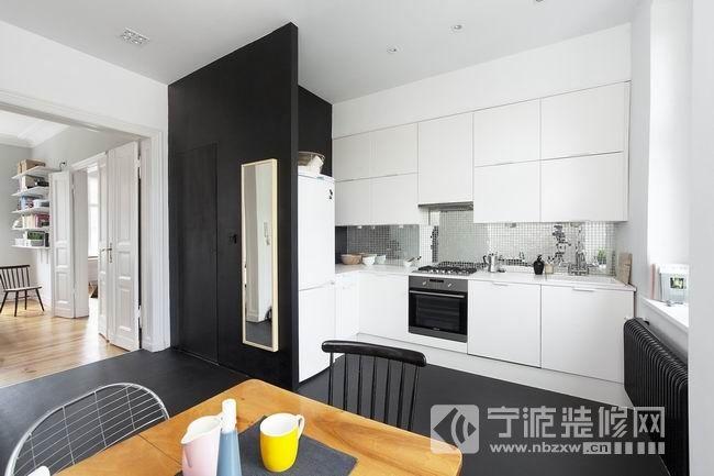 62平方米简约住宅 厨房装修效果图