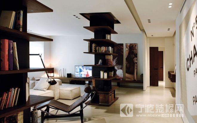 简单舒适的时尚住宅 客厅装修图片