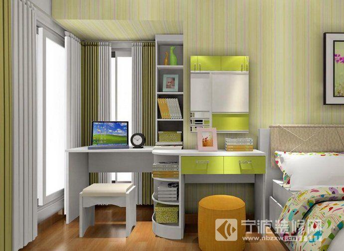 小户型卧室飘窗设计方案 书房装修图片