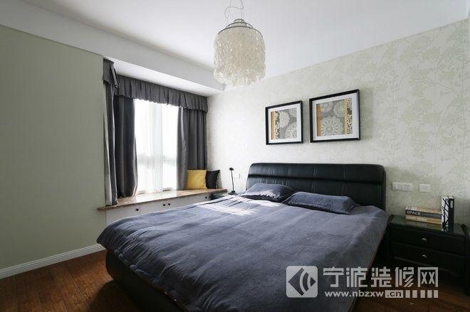 132平简约风三居之家 卧室装修效果图 -132平简约风三居之家 卧室装