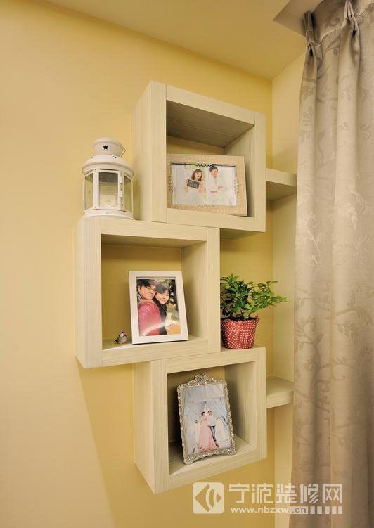 92平世纪花园时尚婚房 客厅装修图片