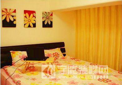 45平精致复式 卧室装修效果图 -45平精致复式 卧室装修图片