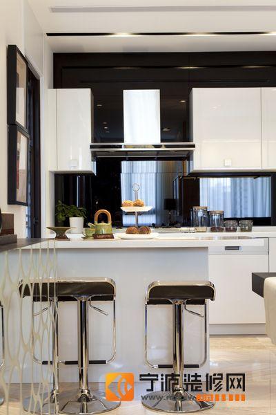 前卫装饰现代中式风格 厨房装修图片