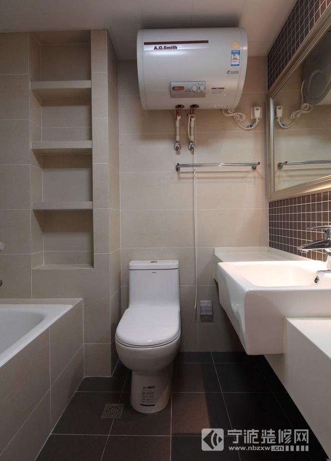 125平米简欧三居装修效果欣赏 卫生间装修图片