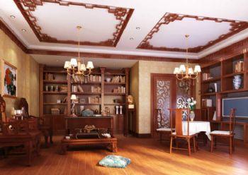 挑高别墅装修设计图-古典电影装修效果图-室内设计v电影看的风格图片