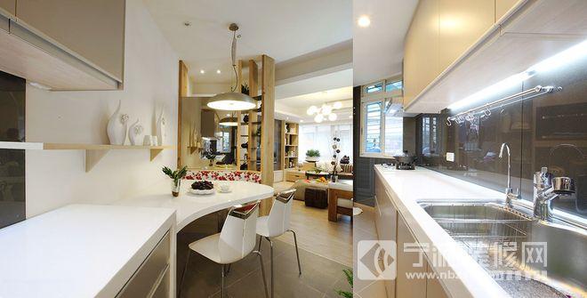 99平米旧屋改造案例 厨房装修图片