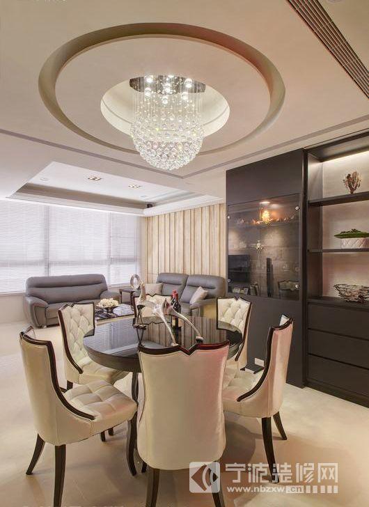 86平米现代简约家居设计图片 餐厅装修效果图 -86平米现代简约家居设