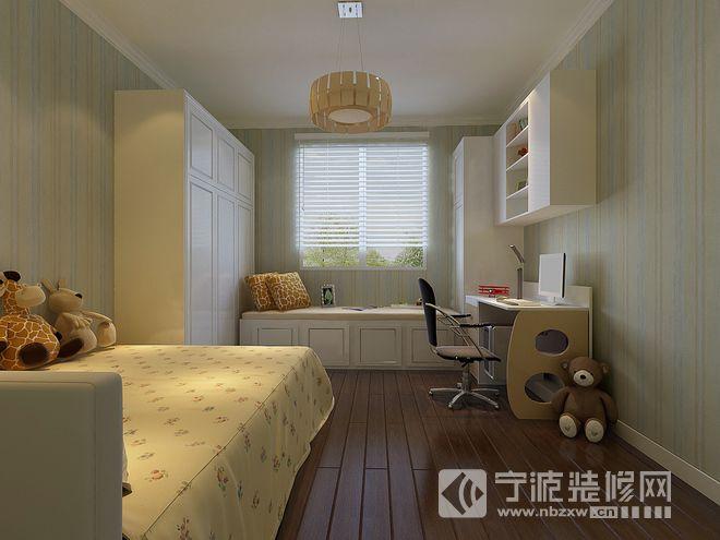 135平米欧式三居效果图 儿童房装修图片