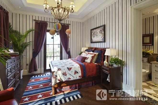 欧式古典别墅装修效果图欣赏 卧室装修图片 -欧式古典别墅装修效果图
